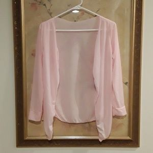 Sweaters - NEW Drape Open Front Cardigan Sweater